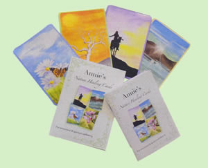 Nature Healing Cards and Book