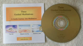 Meditation CD from Keith - Annie's Nature Healing Cards
